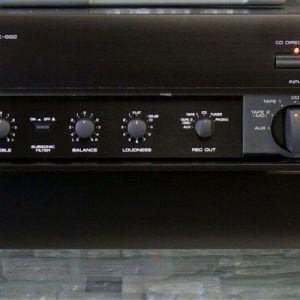 Yamaha AX-892 Integrated Stereo Amplifier HiEND (Original Remote-Control Yamaha RAX6)