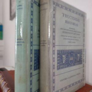 Θουκυδίδης ιστορίαι στερεότυπη κριτική έκδοση Οξφόρδης 2 τόμοι