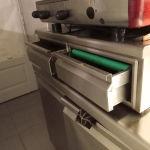 Επαγγελματικό συρτάρι διπλό μηχανής Εσπρέσσο
