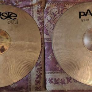 Πιατινια hi-hat Paiste 201 bronze
