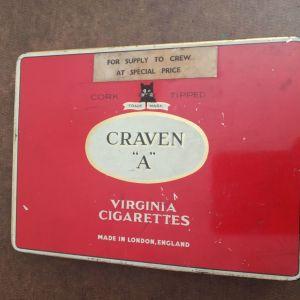 "CRAVEN ""A"" μεταλλικό κουτί τσιγαρων"