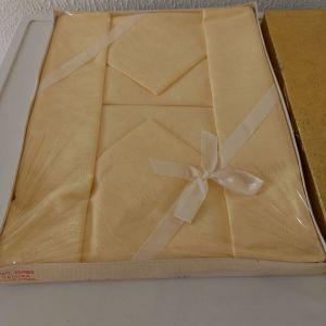 Τραπεζομαντηλο vintage ζακαρ με 6 πετσέτες, βαμβάκι εξαιρετικής ποιότητας