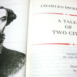 CHARLES DICKENS.A Tale of two cities