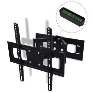 Βάση Τηλεόρασης 3D Κεκλιμένη & Περιστρεφόμενη Επιτοίχια Διπλό Βραχίονα-50317