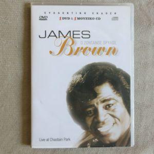 James Brown - Ο Ζωντανος θρυλος 1 CD + 1 DVD