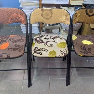 Καρέκλες πτυσσόμενες χειροποίητες