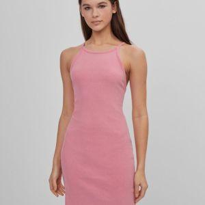 Κοντό φόρεμα με τιράντες BERSHKA LARGE
