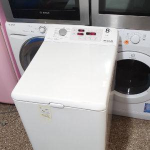 Πλυντήριο ρούχων άνω φόρτωση brandt 8 kg, σε άριστη κατάσταση με γραπτή εγγύηση