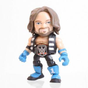 WWE Action Vinyls Mini Figures 8 cm Wave 1 - AJ STYLES WORLD CHAMPIONSHIP