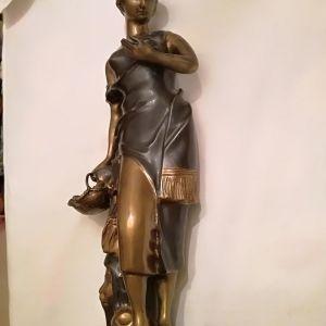Αντίκα μπρούτζινο μασίφ άγαλμα (κωδ. 175752)