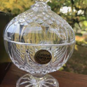 Μπομπονιερα Cristal D'arques Longchamp. Κρύσταλλο.