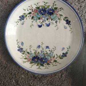 Σάμος. Παλιό κεραμικό πιάτο.