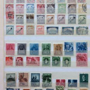 Συλλογη γραμματοσημων Ουγγαριας διαφορετικα
