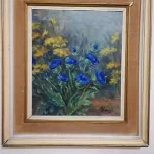 Πίνακας ζωγραφισμένος στο χερι