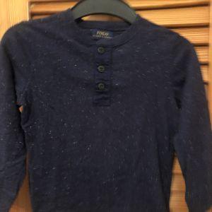 Μπλε Μακρυκανινο μακο τοπ Polo Ralph Lauren