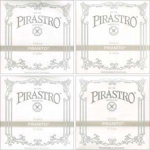 Χορδές Pirastro Piranito D Steel Chrome Steel 1/4 & 1/8