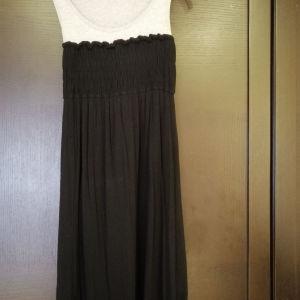 Φόρεμα BSB Medium ελαστικό Γκρι - Μαύρο