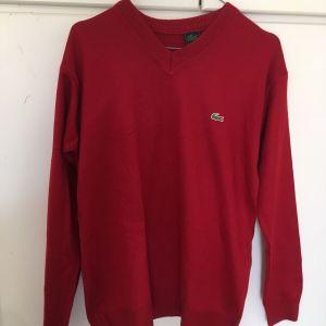 Lacoste v-neck sweatshirt