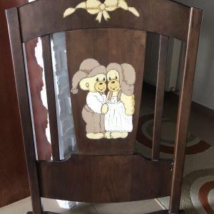 Παιδικο κρεβατακι κουνια Gellino Home