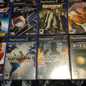 Playstation 2 Games 5 euro each