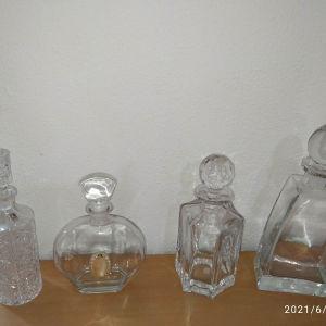 Κρυστάλλινα μπουκάλια ποτου (4)