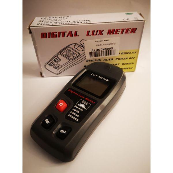 polite LCD Digital Display Handheld Light Lux Meter Tester