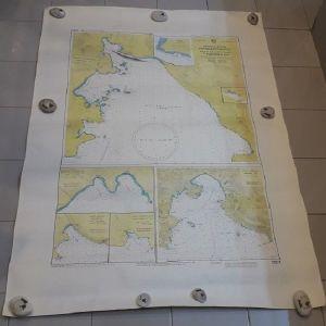 Χάρτης ( Όρμοι Β. Ακτών Κορινθιακού Κόλπου )