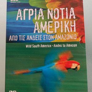 Άγρια Νότια Αμερική από τις Άνδεις στον Αμαζόνιο ντοκιμαντέρ του BBC 3 dvd