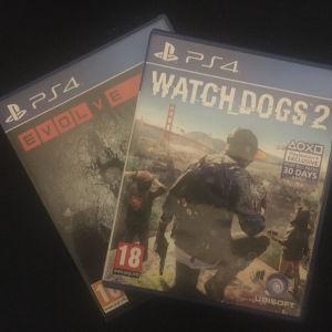 PS4 Games - PS4 Παιχνίδια WatchDogs 2, Evolve