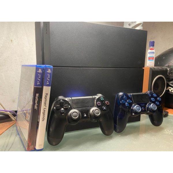 PS4 1TB+2 chiristiria+2 pechnidia(teliki timi)