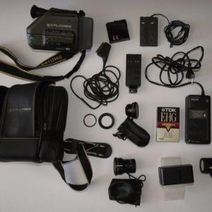 Βιντεοκάμερα Philips VKR6870 με όλα τα αξεσουάρ