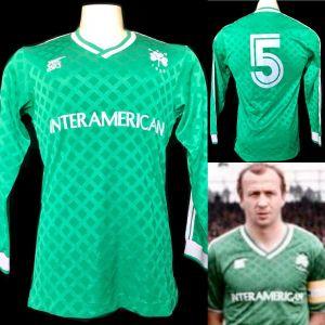 Φανελα Παναθηναϊκού match worn shirt Βέλιμιρ Ζαετς 1987