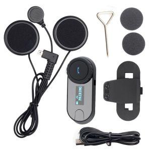 Ακουστικό Bluetooth Ενδοεπικοινωνία Κινητου Τηλεφωνου  Κράνους Μηχανής Ποδηλατου