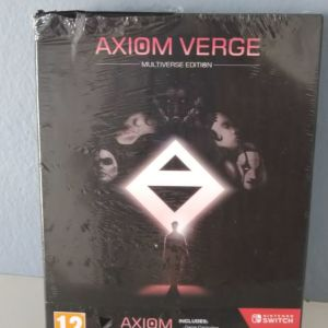 Nintendo Switch Factory Sealed Axiom Verge 1
