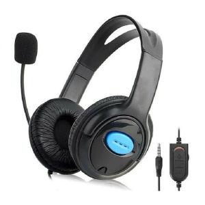 Ενσύρματα ακουστικά P4 μαύρο