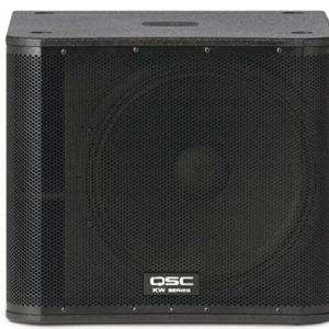 """QSC KW181 18"""" 1000 Watt Active PA Subwoofer Loudspeaker"""