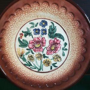 Διακοσμητιο πιάτο vintage
