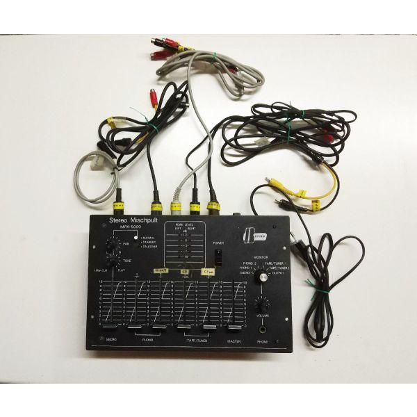 miktis stereofonikos 4 kanalion mavros BETTER  MPX 5000.