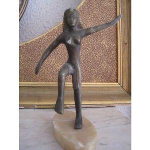 Μπρουτζινο γλυπτο Αιγυπτια Θεα.