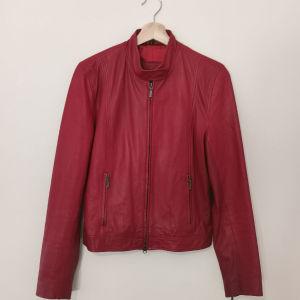Γνήσιο δερμάτινο τζάκετ / genuine leather jacket (S)