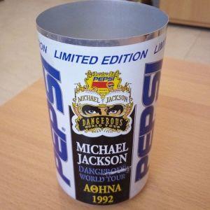 Κουτί Pepsi Michael Jackson Αθήνα 1992
