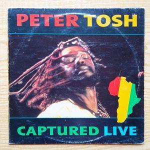 PETER TOSH - Captured Live (1984) Δισκος Βινυλιου Reggae