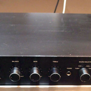 PHILIPS 270 VINTAGE CLASSIC PREAMPLIFIER TYPE 22AH270/15 WITH PHONO