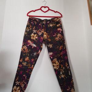 Παντελόνι stretch φλοράλ