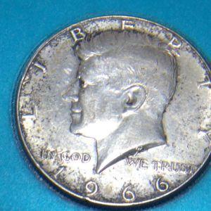 συλλεκτικο  μισο  δολαριο  του 1966