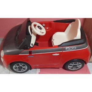 Peg Perego Ηλεκτροκίνητο Fiat 500 6V κόκκινο/γκρι