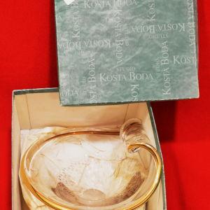 Συλλεκτικό κρύσταλλο-φρουτιέρα της  ''Kosta-Boda''  του 1992 (