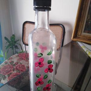 μπουκάλι ζωγραφιστό