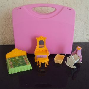 Playmobil.Σετ υπνοδωματιου για Πριγκιπικο δωματιο.
