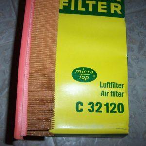 MANN C 32120 AIR FILTER VOLVO 440-460-480 1,6-1,7-1,8-2,0 - TURBO
